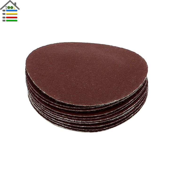 """50PC 240 Grit Sanding Disc Polishing Paper fit 2 """" / 50mm Pad Dremel Tools Accessory Grinder Abrasive Rotary Tool"""