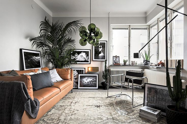 Stockholm Apartment In Shades Of Grey