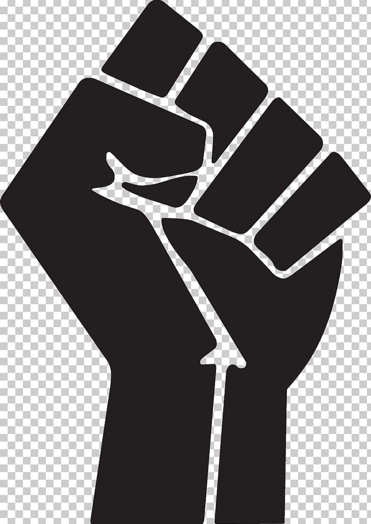 Raised Fist Symbol Png Black And White Black Nationalism Black Panther Party Black Power Comm Black Lives Matter Art Raised Fist Poster Background Design
