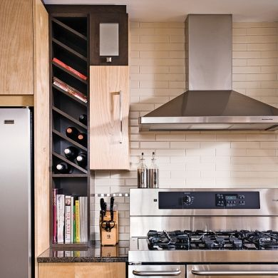 Rangement la verticale dans la cuisine cuisine inspirations d coratio - Rangement cuisine pratique ...