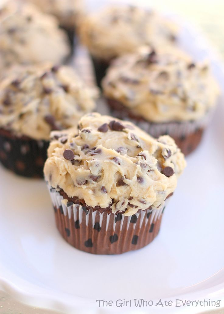 Cookie Dough Frosting Omg I need to make this!