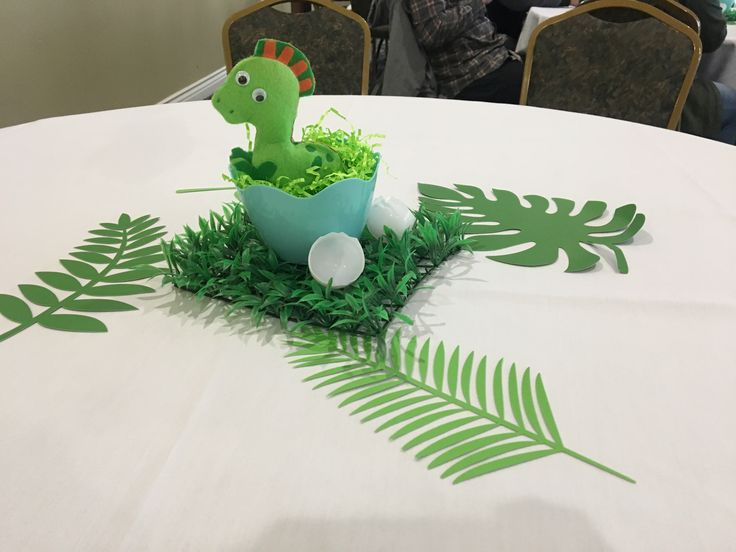 Ready To Hatch Dinosaur Baby Shower Centerpiece $8/each