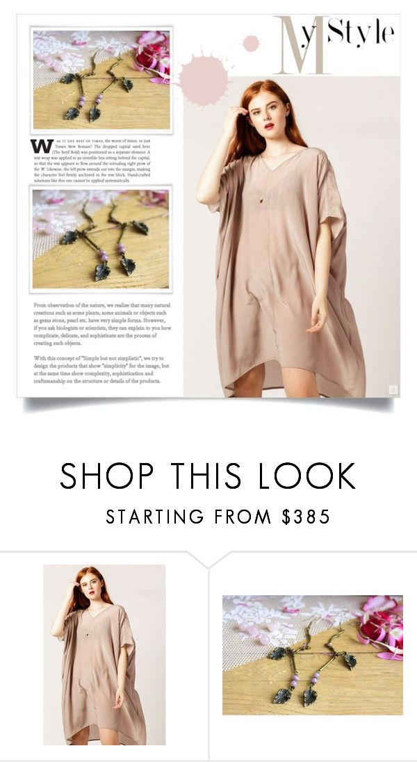 """""""Rustic"""" by princessk-jewelry ❤ liked on Polyvore featuring Laura Siegel, rustic, outfit, jewelry and earrings"""