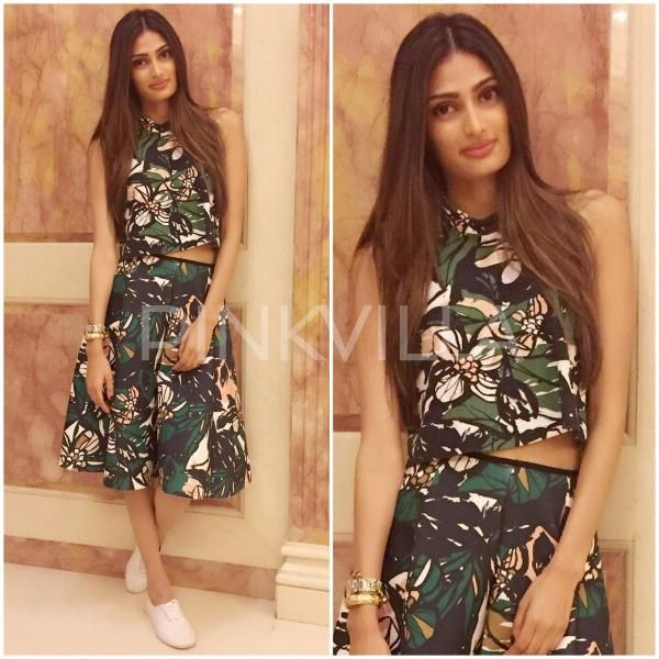 Yay or Nay : Athiya Shetty for Hero Promotions | PINKVILLA