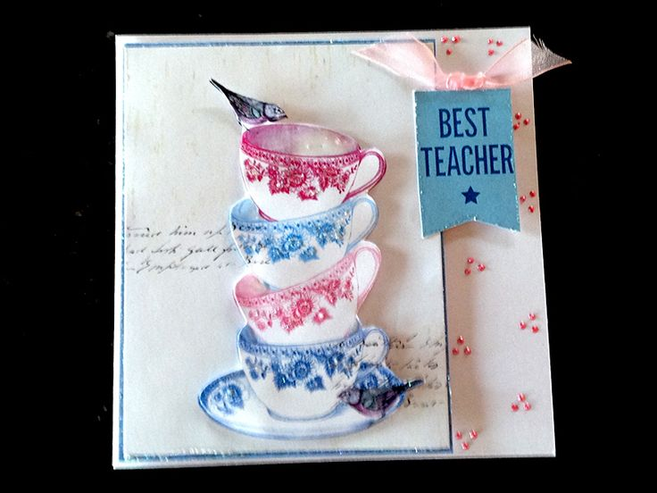 Card made by Gill Cox, using 'A Pocket Full of Paper' from Craftwork Cards.