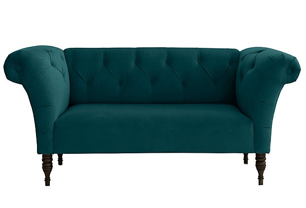 17 best images about for the home on pinterest for Cameron tufted chaise peacock