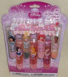 Disney Princess of The Week 7 Lip Gloss Tubes by Disney. $5.99. Disney Princess. Disney Princess 7 lip Gloss