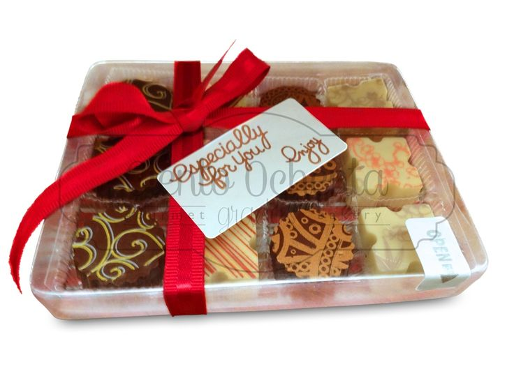Caja de 12 chocolates