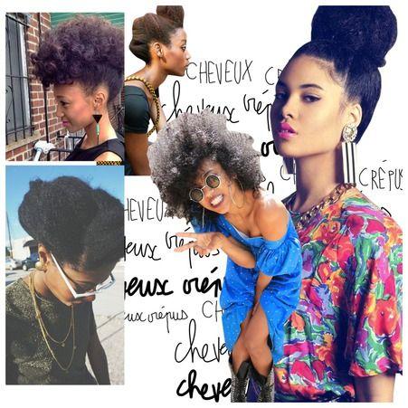 Secs, indisciplinés et parfois cassants, les cheveux crépus peuvent s'avérer difficiles à dompter. Zoom sur notre sélection de 20 bonnes idées de coiffures à adopter.  http://www.elle.fr/Beaute/Cheveux/Coiffure/Cheveux-crepus