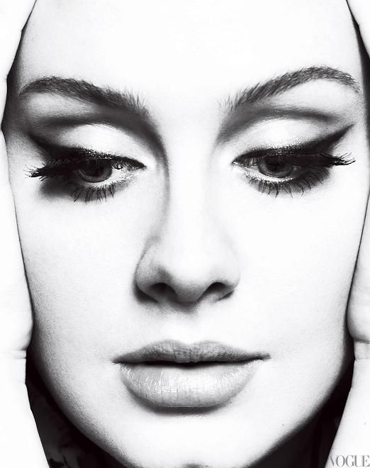 The incandescent Miss Adele.