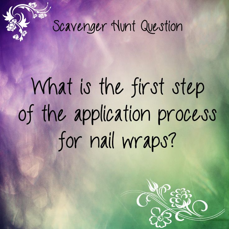 Caradwen Braskat, Independent Consultant, 13thfairy.jamberry.com Scavenger Hunt Questions Game. Made by Laira Stewart