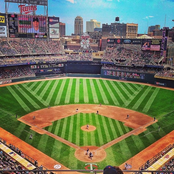 Target Field, Minneapolis, MN .... Home of the Twins.