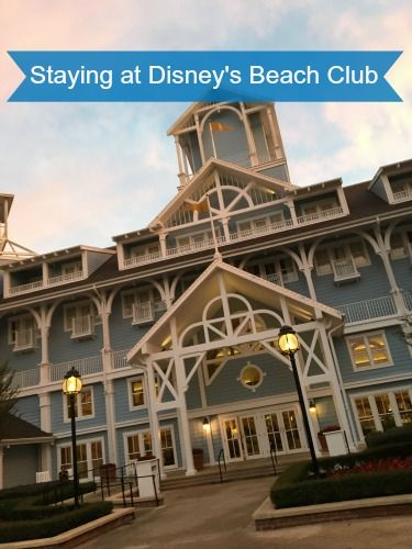 Make the Most of Your Stay at Disney's Beach Club Resort