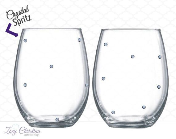 Cheers to 30 Years Wine Glass:  Whether it's an anniversary or birthday, sip from something special. No boring wine glasses at your celebration. Tonight, drink from something with style. The various Zoey Christina Sips collections offer quality 21oz stemless and 20oz stemmed wine glasses. And high quality vinyl on all designs ensures your commemorative glass will last for years to come. Customize your Sips with wording and colors to match the occasion, and mark the memory.  At Zoey Christina…