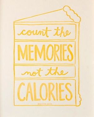 Diets are a waste of precious time. Eat healthy most of the time, and have a…