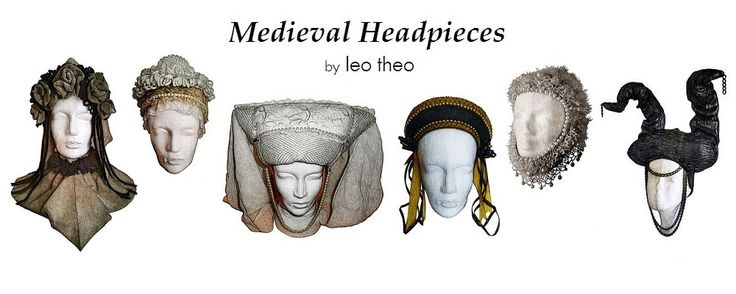 Medieval Headpieces by #leotheo