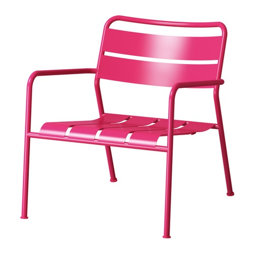 ROXÖ Deck chair IKEA The materials in this outdoor furniture require no maintenance. Easy to keep clean; simply wipe with a damp cloth.