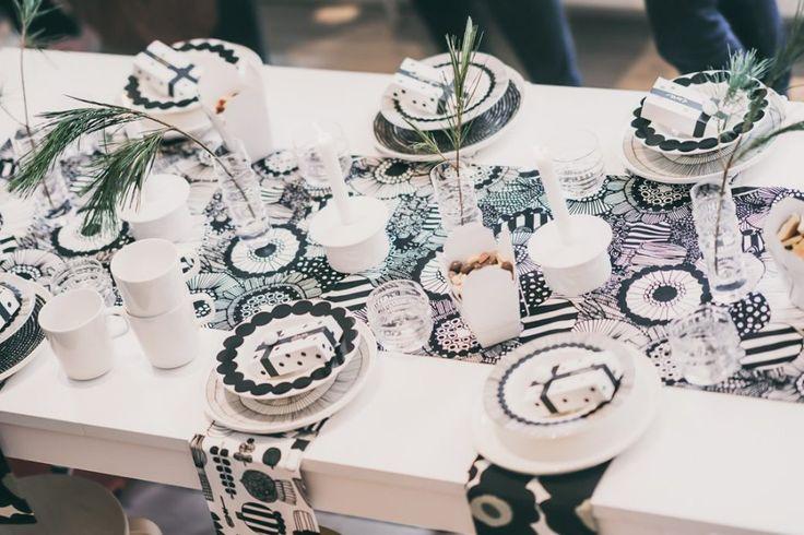 5 Eye-Catching Black + White Party Ideas via @decor8 - Photographer Martin Wehrmann