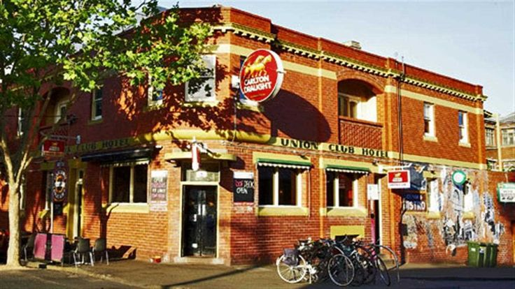 Union Club Hotel, Fitzroy, Melbourne, Victoria, Australia  The pub from Offspring