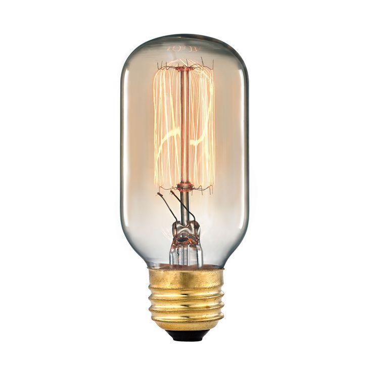 Vintage Filament Light Bulb - 60 Watt Medium Base