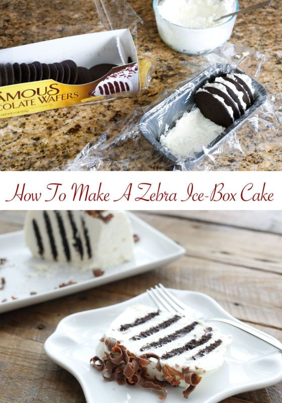 {2 Ingredient} Chocolate Zebra Cake | eBay