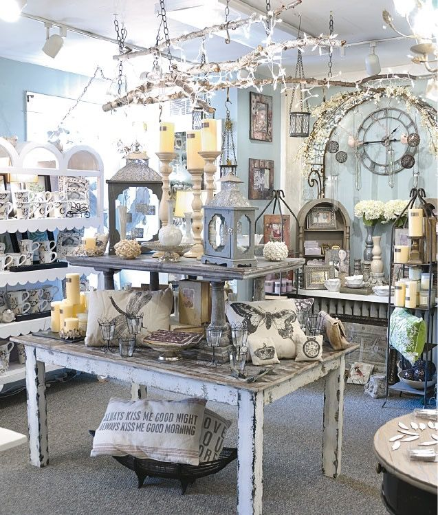 Retail Store Display Home Accessories