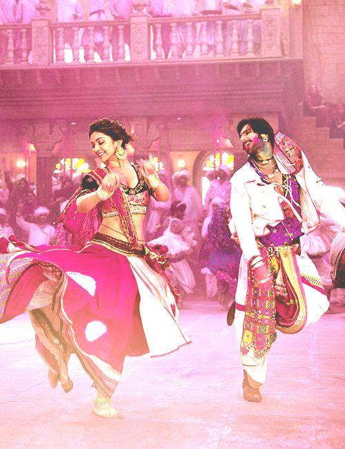 Ram Leela Deepika Padukone and Ranveer Singh