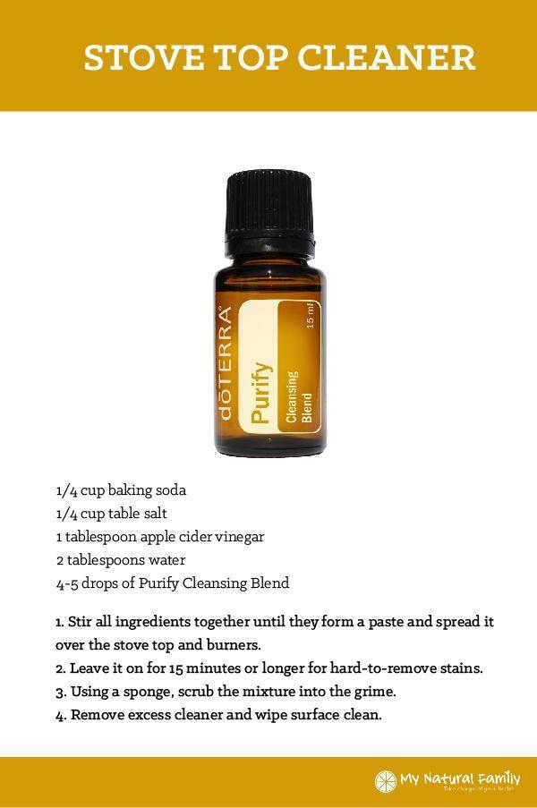 doTERRA Stove Top Cleaner Recipe
