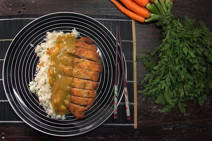 Dvicio: Katsu-kare de pollo o curry japonés con pollo
