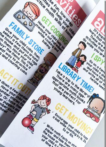 The 25 best teacher brochure ideas on pinterest back to for Math brochure template