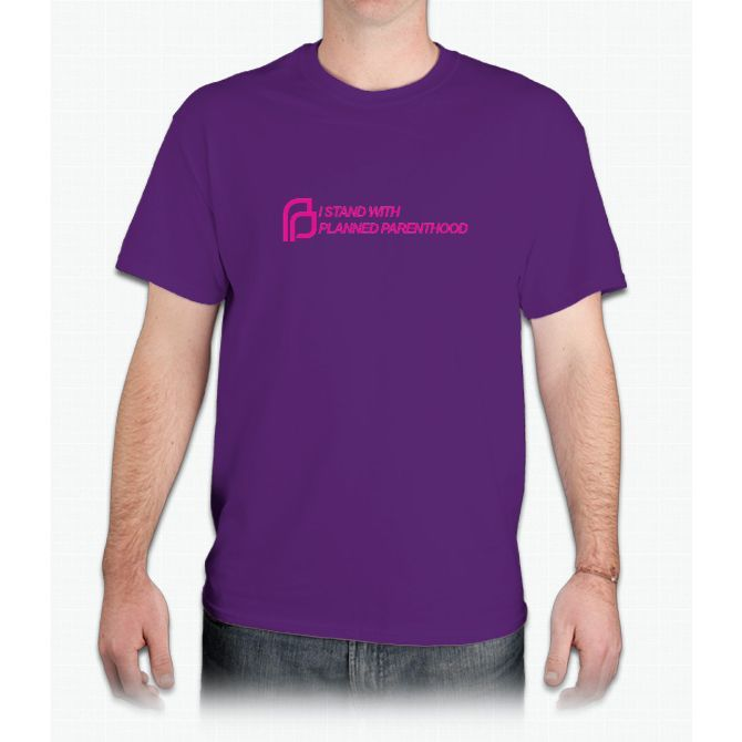 I Stand With Planned Parenthood - Mens T-Shirt
