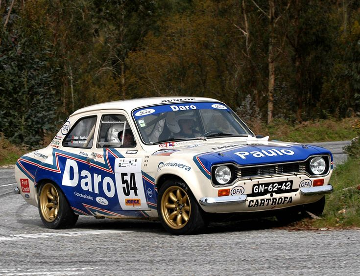 Ford Escort mark I rally car