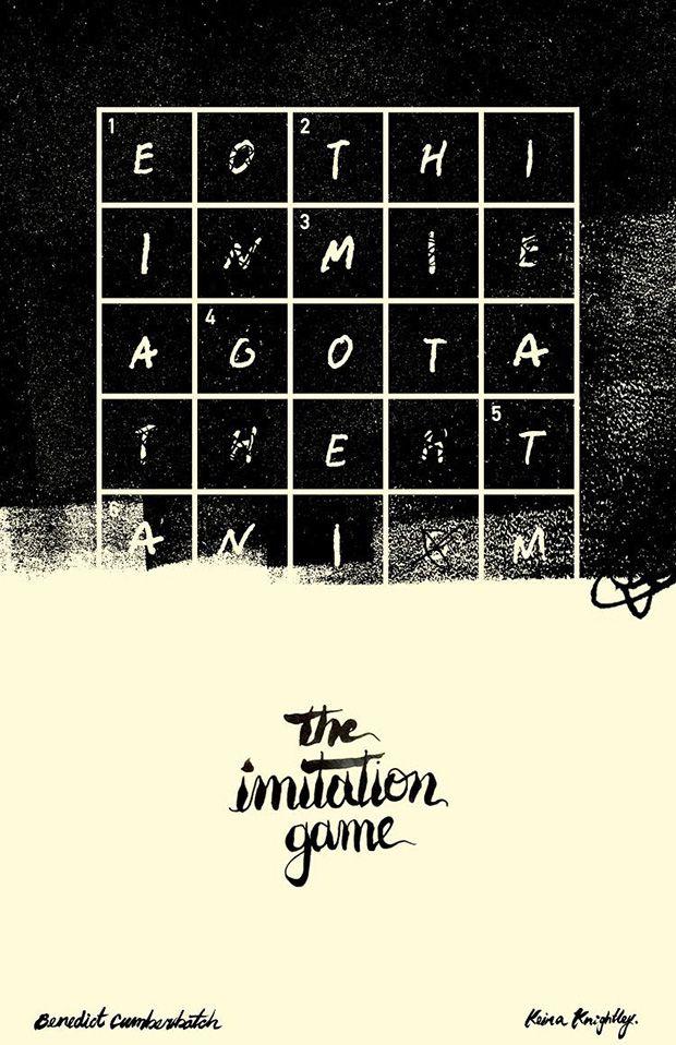 The Imitation Game #movie #movieposter #poster #oscar