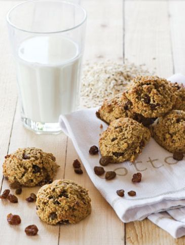 Cookies με βρώμη, καρύδα και σταφίδες | Γλυκά, Επιδόρπια | Athena's Recipes