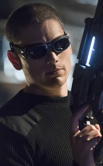 """Leonard Snart a.k.a. Captain Cold played by Wentworth Miller. Introduced in season one of CW's """"The Flash."""""""