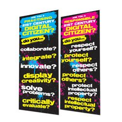 Digital Citizens Responsibilities & Practices Banners