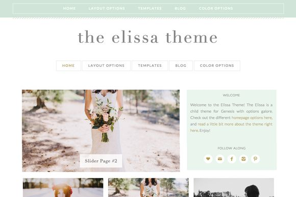 TEMPLATE FEATURES: - Text-based header (edit your site title from your Wordpress Dashboard) with optional tagline or add your own image logo - Mobile responsive - Genesis 2.0, HTML5