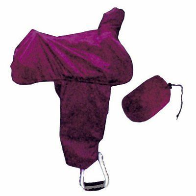 Saddle Covers 183416: Intrepid International Western Saddle Cover With Fenders And Tote, Burgundy -> BUY IT NOW ONLY: $32.02 on eBay!