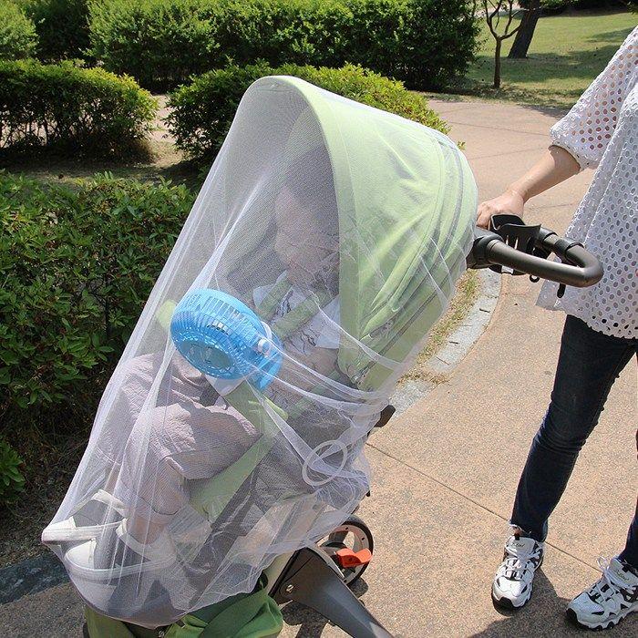 리뷰 꼼마제이 여름 필수품 촘촘한 야외 아기 대형 밴딩 유모차 모기장 방충망 가로150cm세로120cm 2020 여름 필수품 유모차 야외