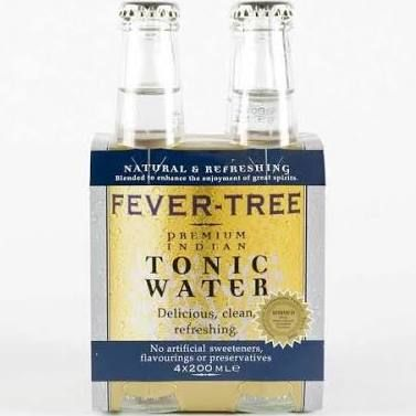 FEVER TREE TONIC WATER UK - for leg and foot cramps