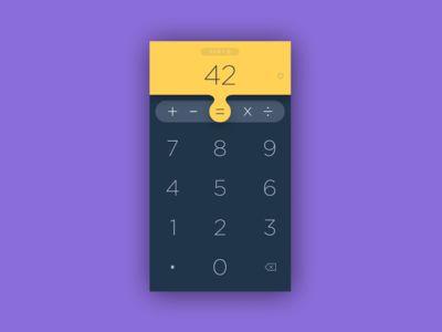 Calculator App UI