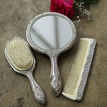 66 best Antique comb, brush,mirror sets images on ...