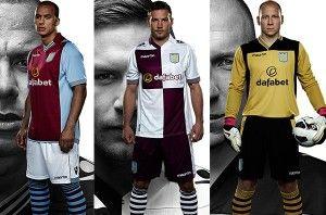 New Aston Villa Kit 13 14