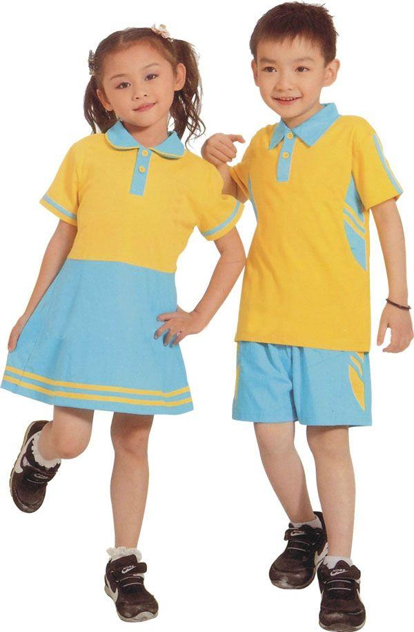 diseño uniforme uniformes escolares los niños al por mayor de la ...