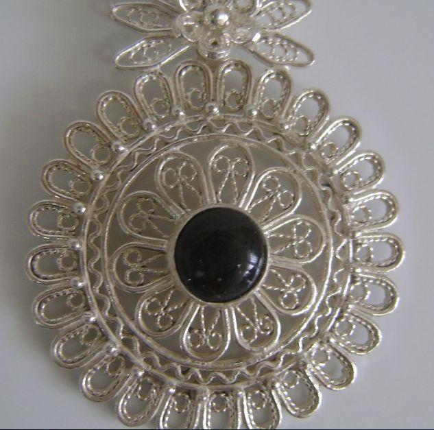 filigree charm necklace