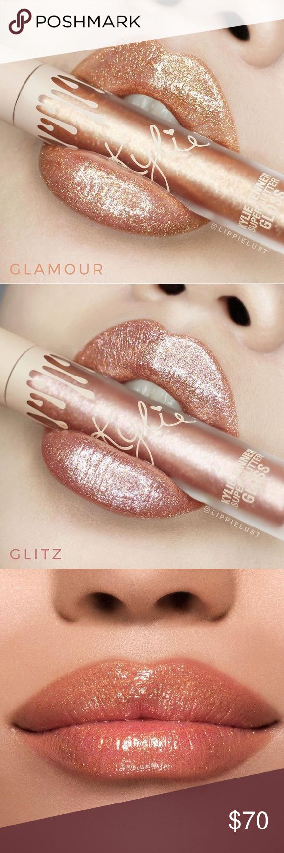 Kylie glosses Kylie limited edition vacation lip gloss. New in box. Original purchased from kylie cosmetics.com glitz and glamour Kylie Cosmetics Makeup Lipstick