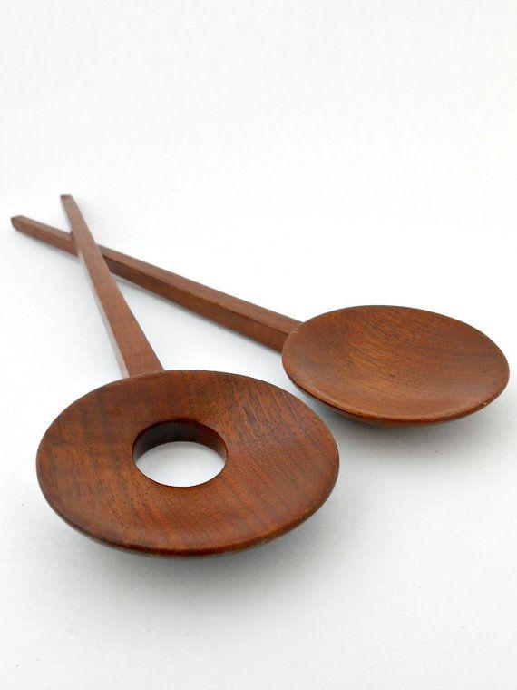 Vintage WoodTeakSalad by my3luvbugs on Etsy