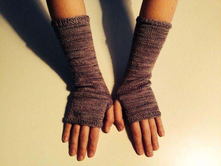 My new wrist warmers