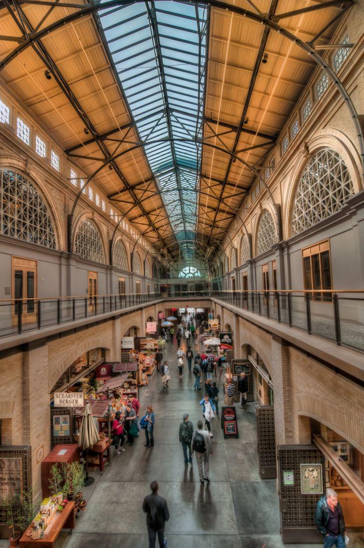 Faneuil hall marketplace inside  Boston