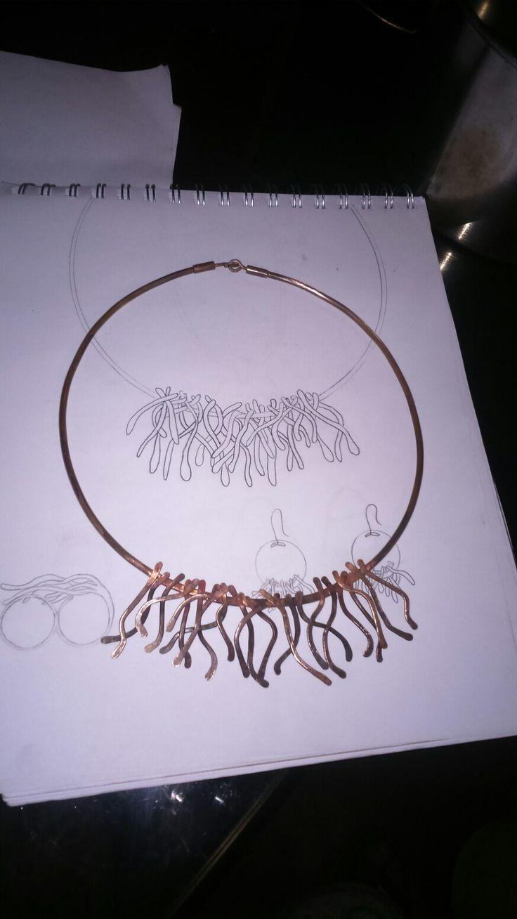 Tiara de cobre